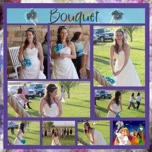 Tossing the bouquet 1b
