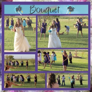 Tossing the bouquet 2b